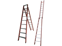Escada de Fibra Tesoura Singela