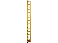 Escada de madeira catraca