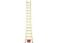 Escada de madeira encostar singela